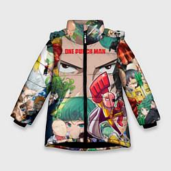 Куртка зимняя для девочки Ванпанчмен цвета 3D-черный — фото 1