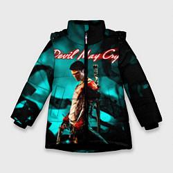 Куртка зимняя для девочки DEVIL MAY CRY цвета 3D-черный — фото 1
