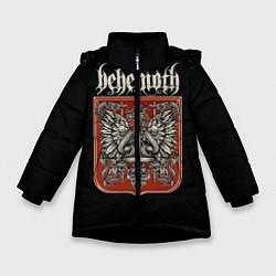 Куртка зимняя для девочки Behemoth цвета 3D-черный — фото 1
