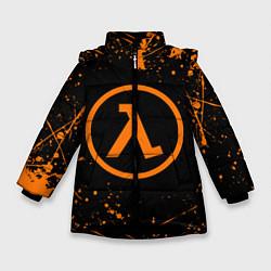 Куртка зимняя для девочки HALF-LIFE цвета 3D-черный — фото 1