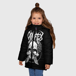 Куртка зимняя для девочки Carnifex цвета 3D-черный — фото 2