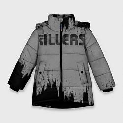 Куртка зимняя для девочки The Killers Logo - фото 1