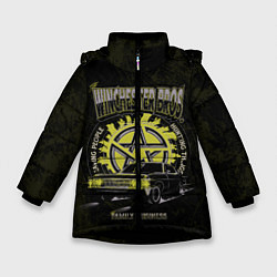 Куртка зимняя для девочки Winchester Bros цвета 3D-черный — фото 1