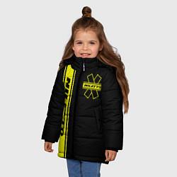 Куртка зимняя для девочки NILETTO цвета 3D-черный — фото 2
