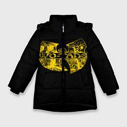 Куртка зимняя для девочки Wu-Tang Clan цвета 3D-черный — фото 1
