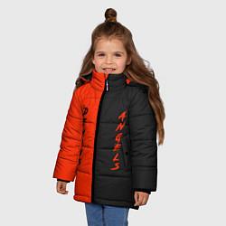 Куртка зимняя для девочки AngelsDemons цвета 3D-черный — фото 2