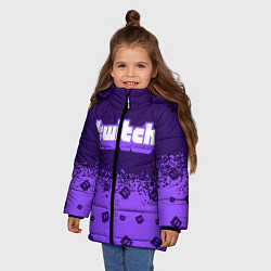 Куртка зимняя для девочки TWITCH ТВИЧ - фото 2