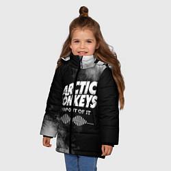Куртка зимняя для девочки Arctic Monkeys - фото 2