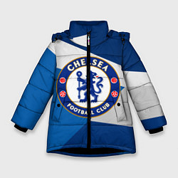 Куртка зимняя для девочки Chelsea Exlusive цвета 3D-черный — фото 1