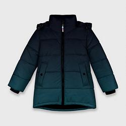 Куртка зимняя для девочки GRADIENT цвета 3D-черный — фото 1