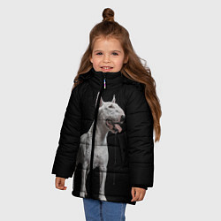 Куртка зимняя для девочки Bully цвета 3D-черный — фото 2