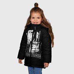 Куртка зимняя для девочки Uchiha Itachi цвета 3D-черный — фото 2