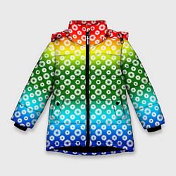 Куртка зимняя для девочки Для фотографов RGB Диафрагма цвета 3D-черный — фото 1