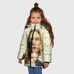 Куртка зимняя для девочки Кобейн с пистолетом - фото 2