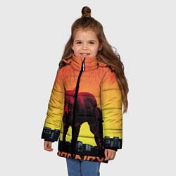 Куртка зимняя для девочки The Prodigy: Red Fox цвета 3D-черный — фото 2