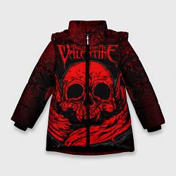 Куртка зимняя для девочки BFMV: Red Skull цвета 3D-черный — фото 1