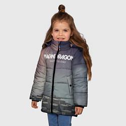 Куртка зимняя для девочки Imagine Dragons: Night Visions цвета 3D-черный — фото 2