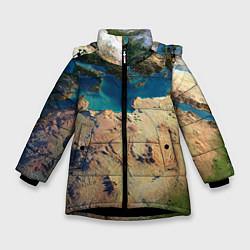 Куртка зимняя для девочки Земля - фото 1