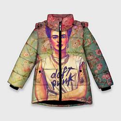 Куртка зимняя для девочки Фрида - фото 1