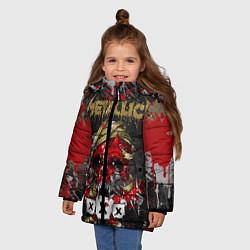 Куртка зимняя для девочки Metallica XXX - фото 2