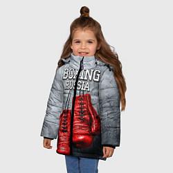Куртка зимняя для девочки Boxing Russia - фото 2