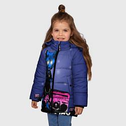 Куртка зимняя для девочки The Prodigy: Night Fox цвета 3D-черный — фото 2