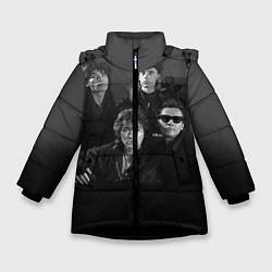 Зимняя куртка для девочки Группа Кино