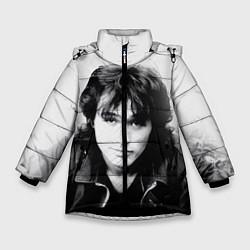 Зимняя куртка для девочки Кино: Виктор Цой