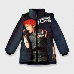 Куртка зимняя для девочки Gerard Way цвета 3D-черный — фото 1
