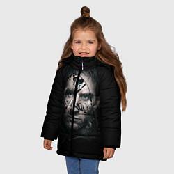 Куртка зимняя для девочки Messi Black цвета 3D-черный — фото 2
