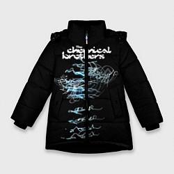 Куртка зимняя для девочки Chemical Brothers: autograph цвета 3D-черный — фото 1