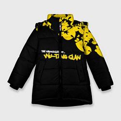 Куртка зимняя для девочки Wu-Tang clan: The chronicles цвета 3D-черный — фото 1