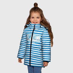 Куртка зимняя для девочки ВДВ. Выше нас только звёзды цвета 3D-черный — фото 2
