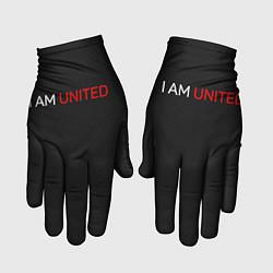 Перчатки Manchester United team цвета 3D — фото 1