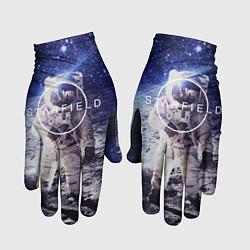 Перчатки Starfield: Astronaut цвета 3D — фото 1
