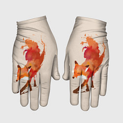 Перчатки Paint Fox цвета 3D — фото 1
