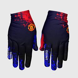 Перчатки Manchester United цвета 3D — фото 1