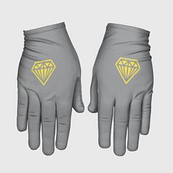Перчатки Бриллиант pantone 2021 цвета 3D-принт — фото 1