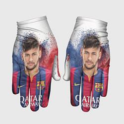 Перчатки Neymar FCB цвета 3D — фото 1