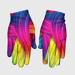 Перчатки Абстракция цвета цвета 3D — фото 1