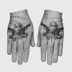 Перчатки 2Pac Guns цвета 3D-принт — фото 1