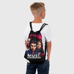 Рюкзак-мешок Muse Band цвета 3D-принт — фото 2