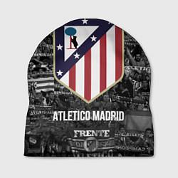 Шапка Атлетико Мадрид цвета 3D — фото 1