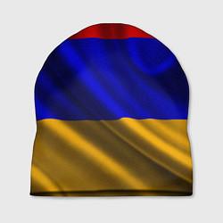 Шапка Флаг Армения цвета 3D-принт — фото 1