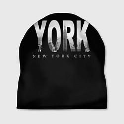 Шапка New York City цвета 3D — фото 1