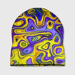 Шапка Цветная текстура цвета 3D — фото 1