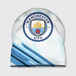 Шапка Manchester city цвета 3D-принт — фото 1