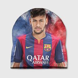 Шапка Neymar FCB цвета 3D — фото 1
