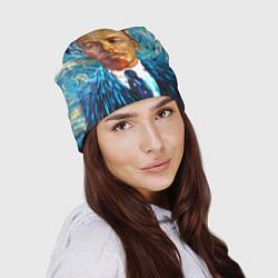 Шапка Ленин Ван Гога цвета 3D-принт — фото 2
