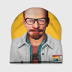 Шапка Ленин хипстер цвета 3D-принт — фото 1